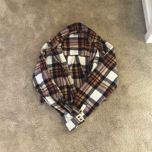 plaid shirt overshirt